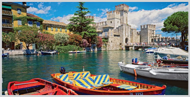 Italy: Po River Valey and Lake Garda
